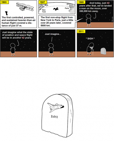 Abstruse Goose - history of flight