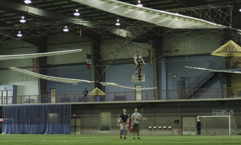 AeroVelo wins the Human Powered Helicopter Competition
