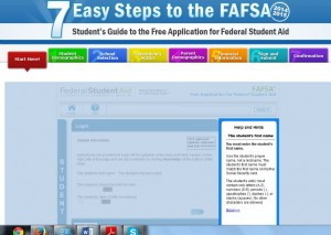 FAFSA screenshot