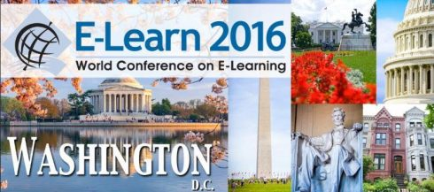 ELearn 2016 in Washington DC