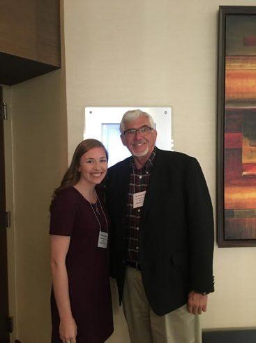 Dr. Pruett and Emily Adams