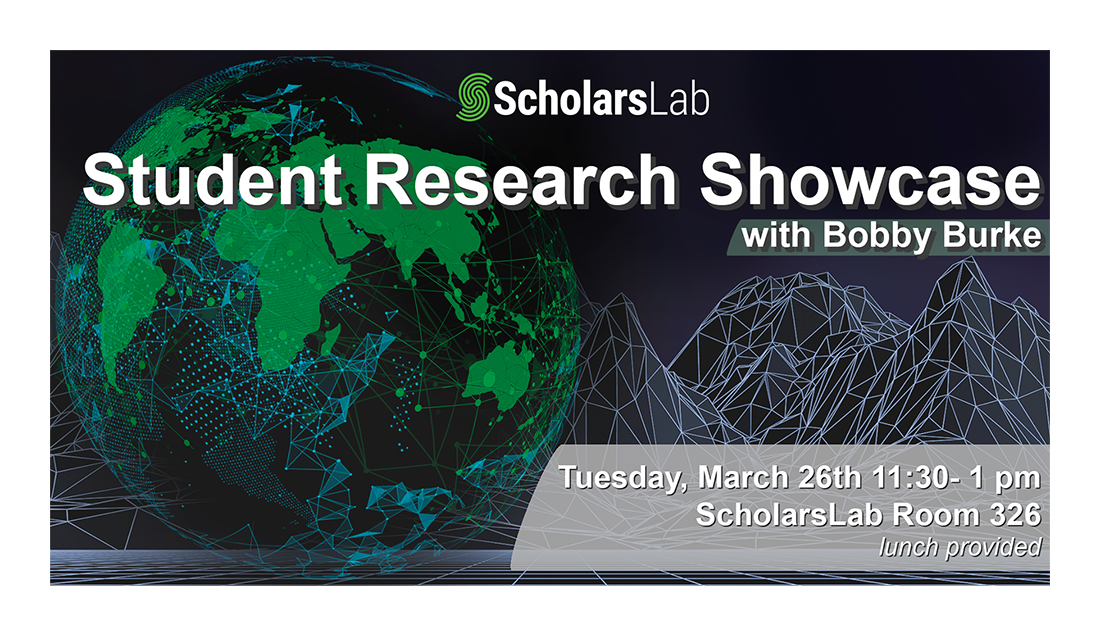 Scholars Lab Event Recap – Student Research using ArcGIS