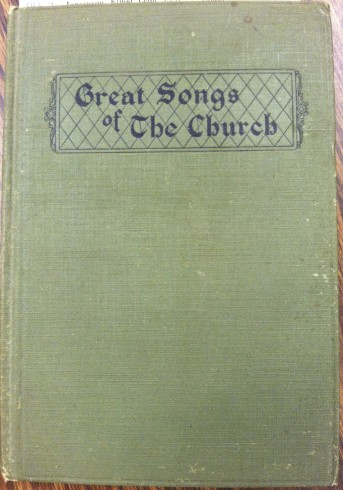 Great Songs of the Church, 1922
