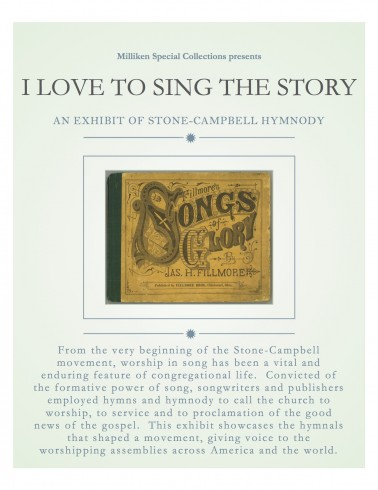 i love to sing the story, poster 3