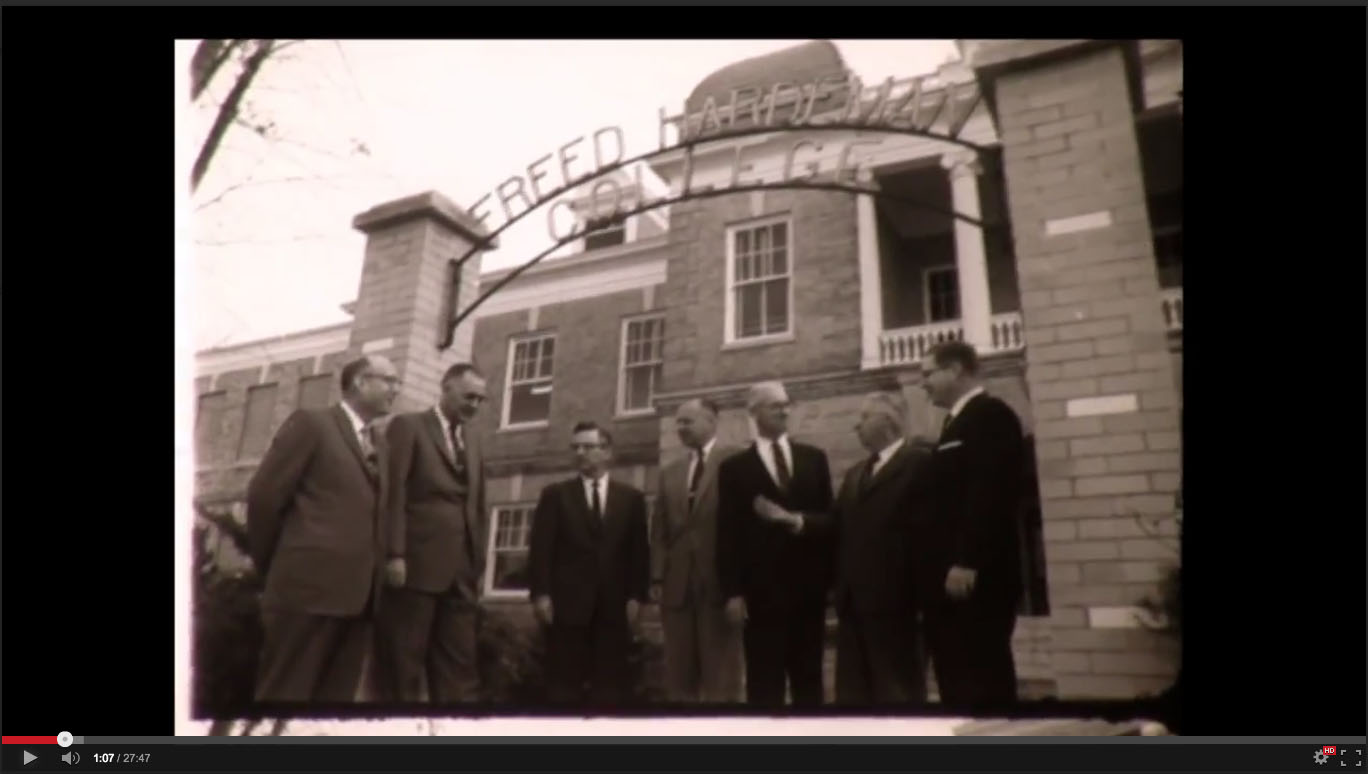 Bible Faculty, Freed-Hardeman College, November 20-21, 1958; Herald of Truth Television Film #65. Center for Restoration Studies, Milliken Special Collections, Abilene Christian University, Abilene, TX.
