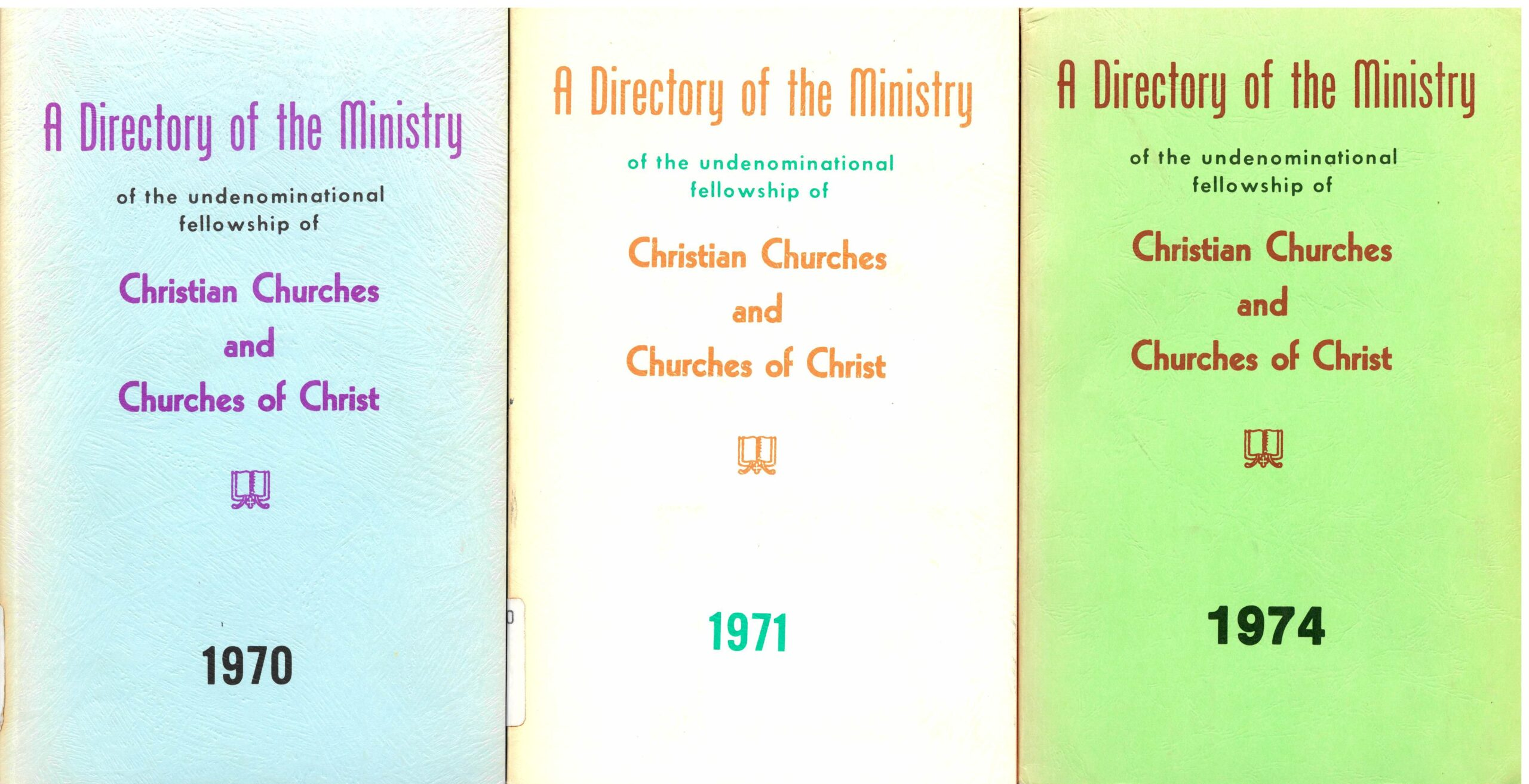 A Directory of the Ministry of the Undenominational Fellowship of Christian Churches and Churches of Christ.