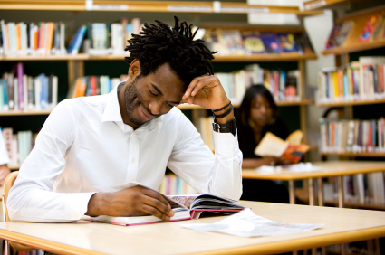 Image result for college students reading