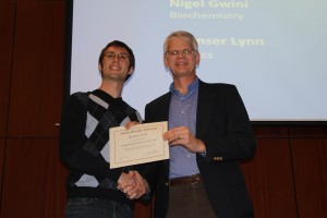 Spenser Lynn STEM Undergraduate Researcher of the Year