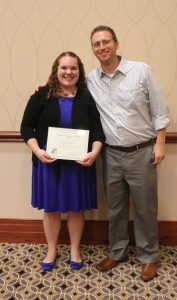 Kaitlin Pegoda and Dr. Stephen Baldridge