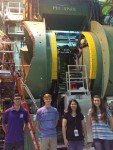 Engineering and Physics Students at Brookhaven National Laboratory