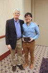 STEM Undergraduate Researcher of the Year, Soon Hun Yoon and his advisor Dr. Greg Powell