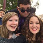 Caitlin Norquist, Joram Alford, and Lydia Burnam at NATS