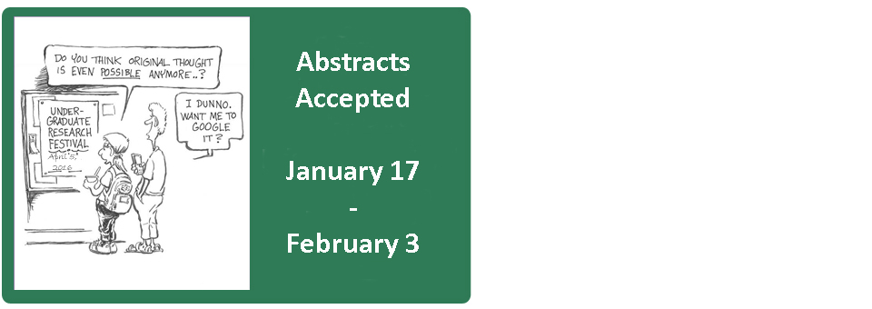 Abstract Submission for Research Festival Now Open