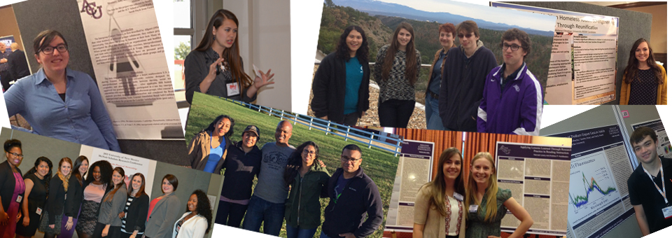 ACU Undergraduate Researchers Presented at a Variety of Conferences this Fall
